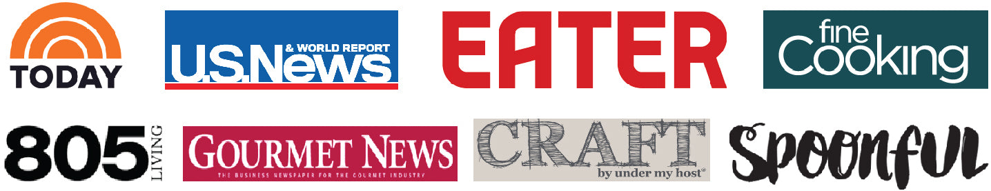 Pacific Pickle Works is featured in these fine publications - The Today Show on NBC, U.S. News and World Report, Eater, Fine Cooking, 805 Living, Gourmet News, Craft by Under My Host, Spoonful
