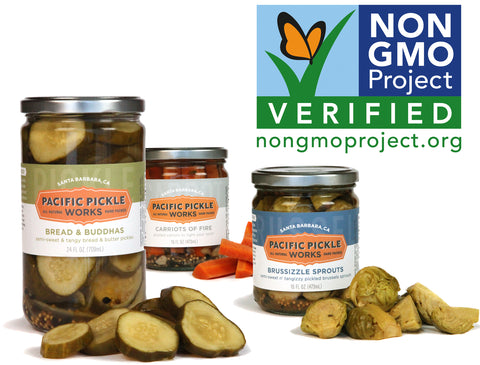 Pacific Pickle Works earns Non-GMO Certification