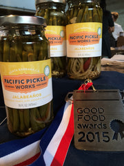 Good Food Award for Pacific Pickle Works Jalabeaños