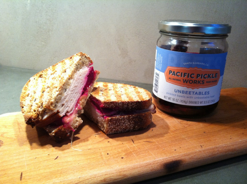 Pacific Pickle Works Unbeetable Turkey and Brie Panini