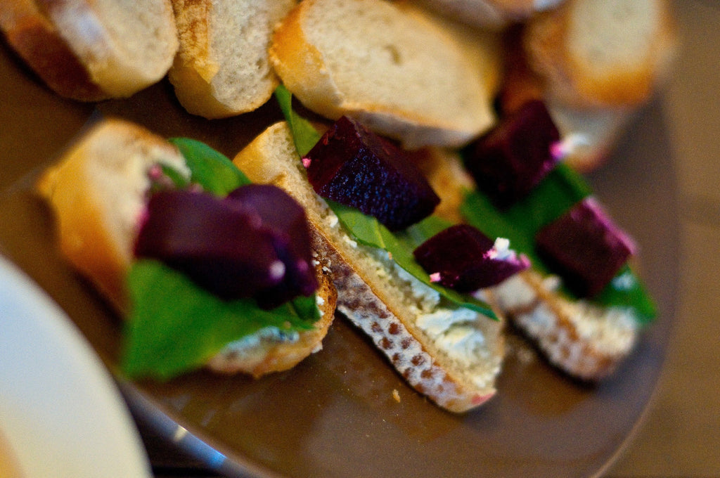 Pacific Pickle Works Unbeetables Crostini Appetizer