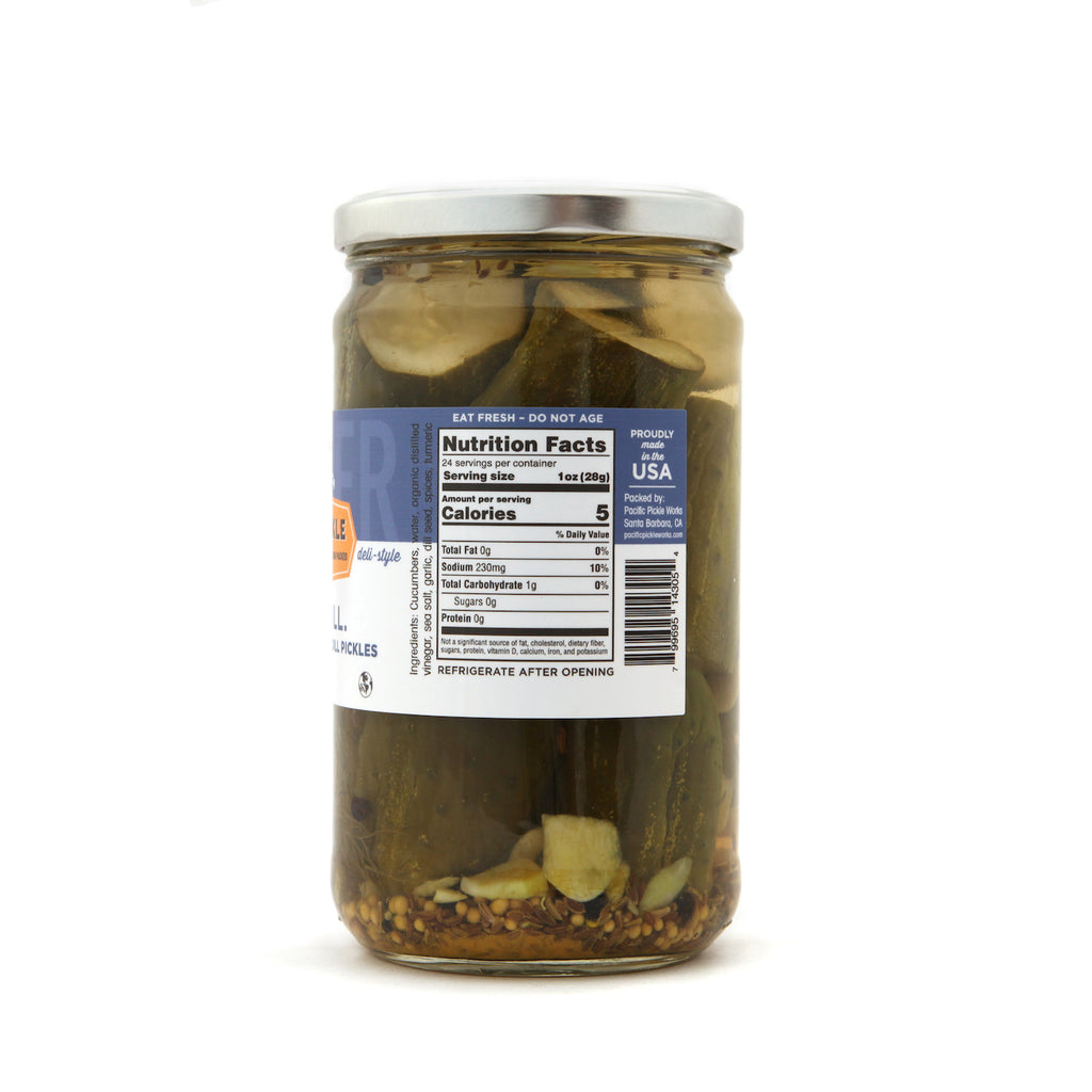 No Big Dill - Baby Kosher Dill Pickles 24oz - NEW!