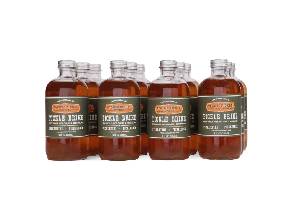 Pacific Pickle Works Pickle Brine 8oz 12-pack
