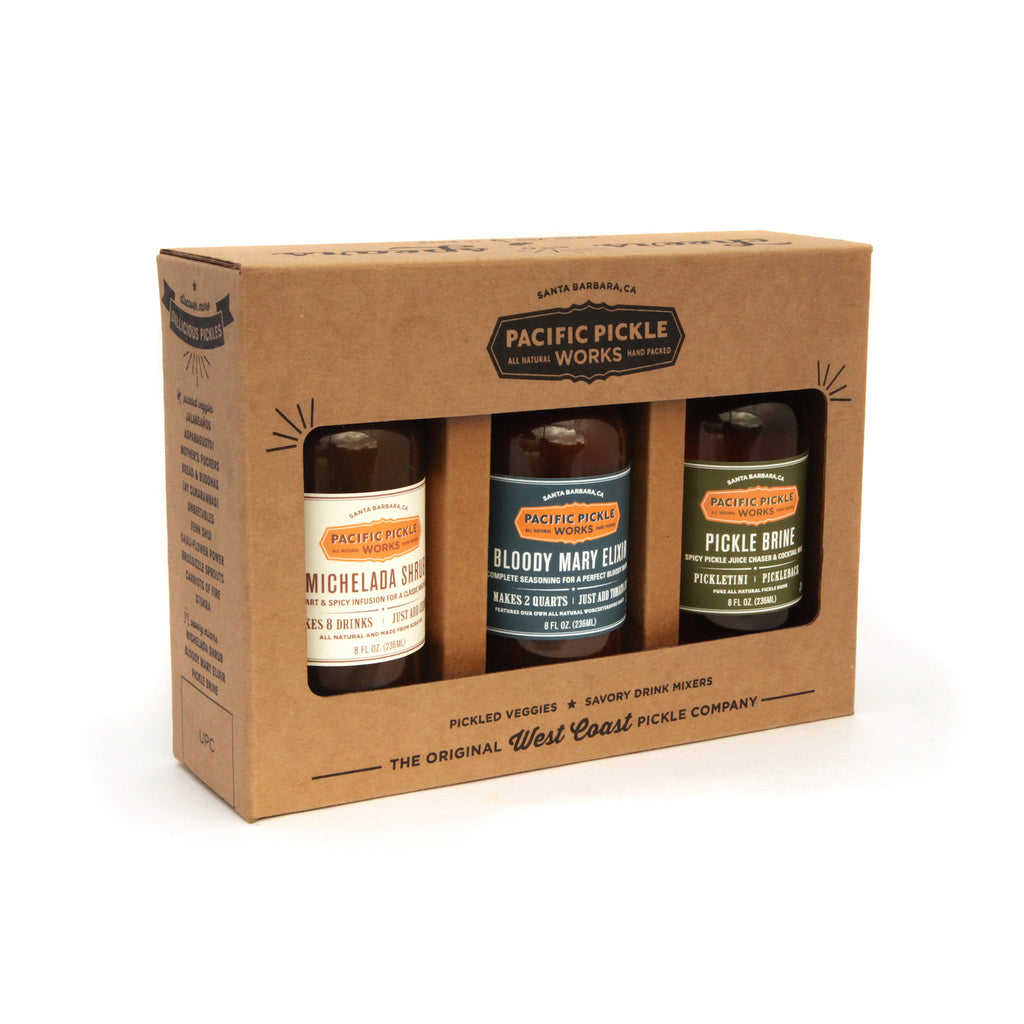 West Coast Cocktail Mixers Gift Set (3-pack of 8oz bottles)