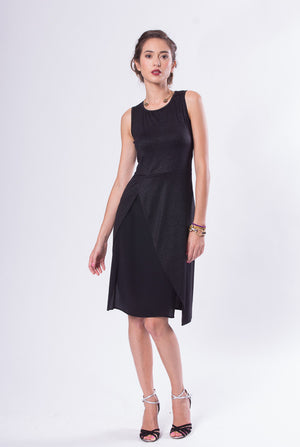 black tanblack tango dress with open backgo dress with open back