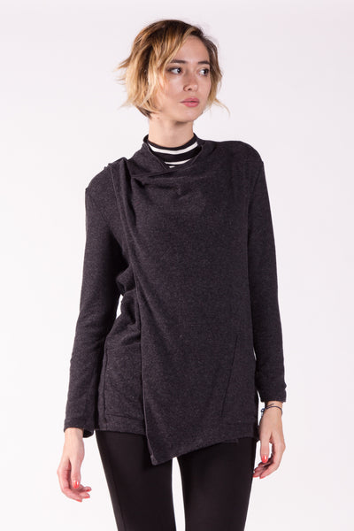 Versatile Long Sleeves Sweater Jersey Cardigan