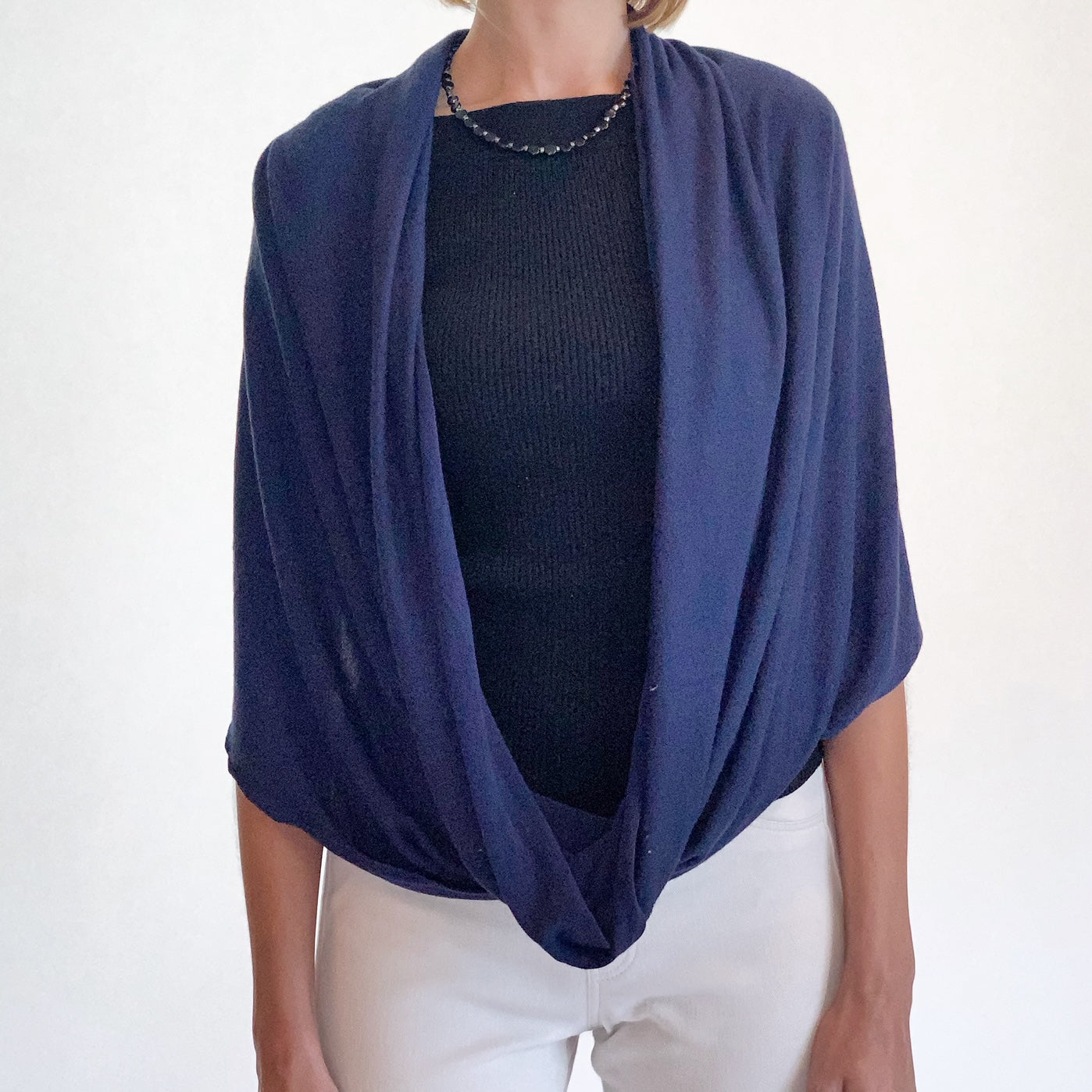 New! Sweater Infinity Scarf and Shoulder Wrap Shawl