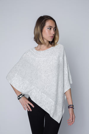 Long Poncho Sweater Wrap and Shawl