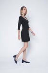 New! Signature Amanda Ballet-Inspired Wrap Dress in Stretchable Jersey