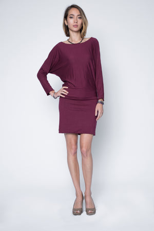 dolman dress in relax fit sleeve