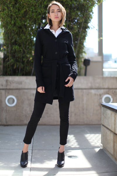 Sherry French Terry Day Coat