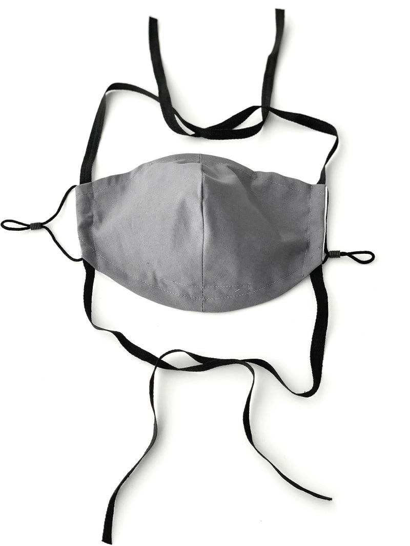 Face Mask Accessories : Neck Holder and Head Ties for Cotton Face Mask