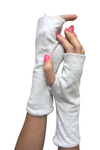 Cotton Fingerless Gloves UV Protective Lightweight Single Layer