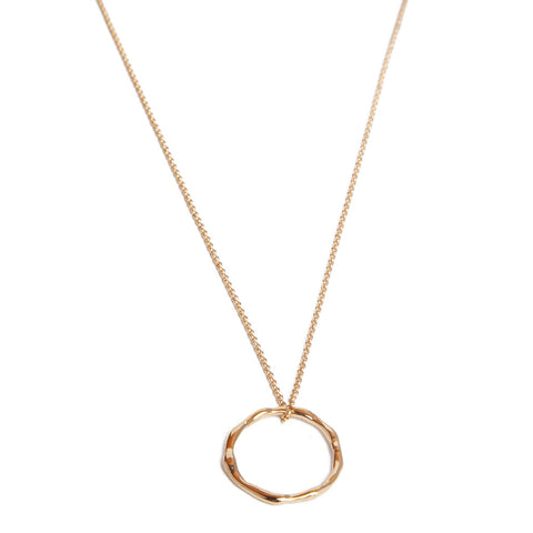 Open Hoop Necklace