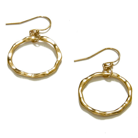 Easy Hoop Earrings