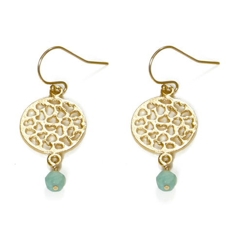 Lacy Turquoise Earrings