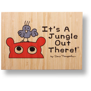 It's A Jungle Out There!® bamboo print