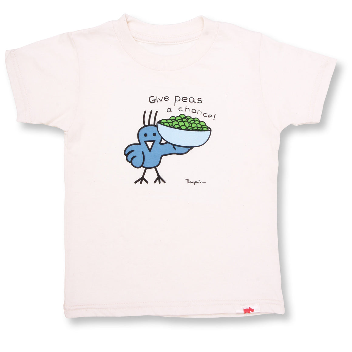 Give Peas A Chance Organic Tee