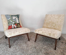 Load image into Gallery viewer, Pair of vintage Parker Knoll TV chairs available for reupholstery