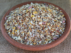 No Mess Top Quality 100% Edible (Husk and Wheat Free) Premium Bird Food With Aniseed No Waste