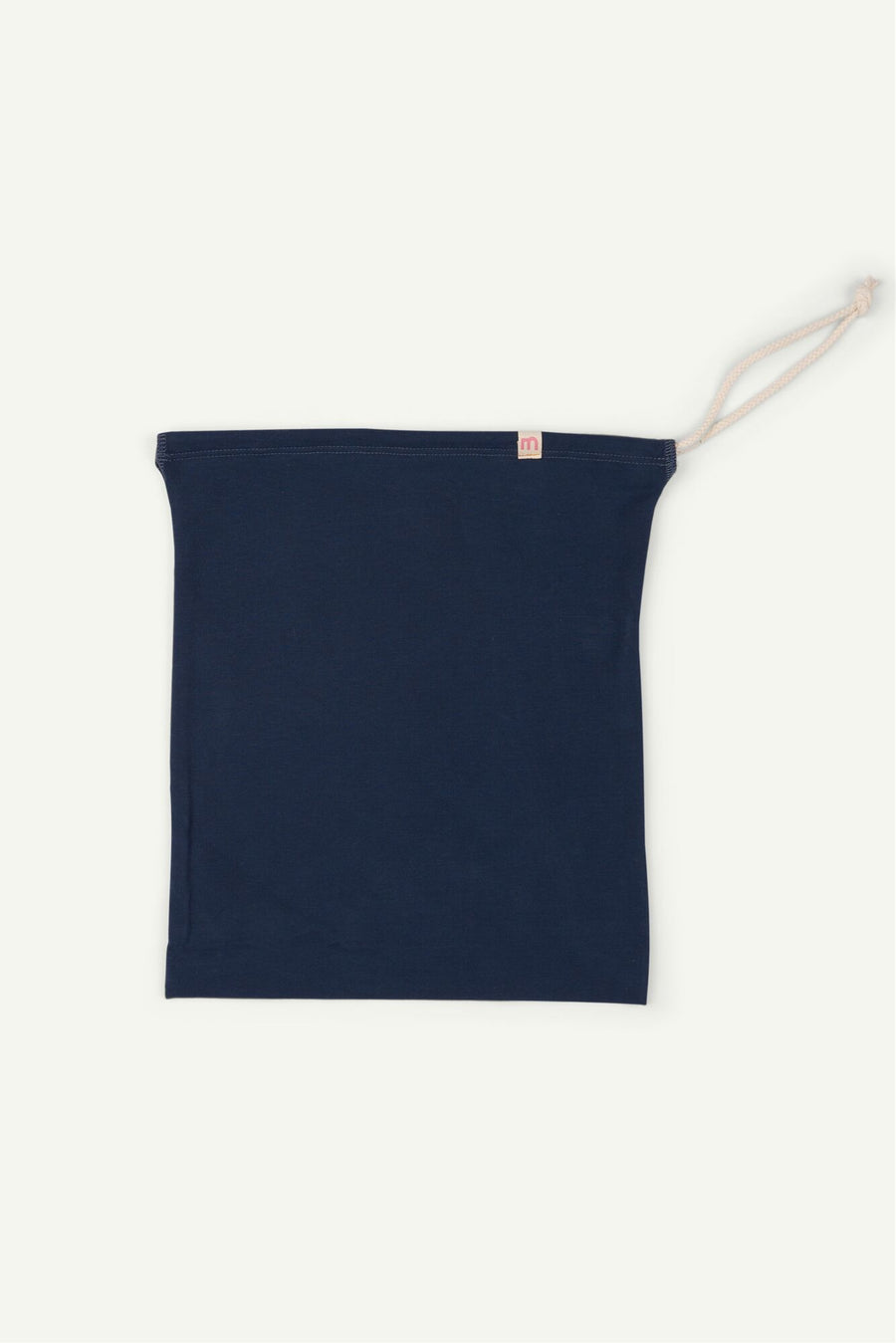 Navy Drawstring Bag