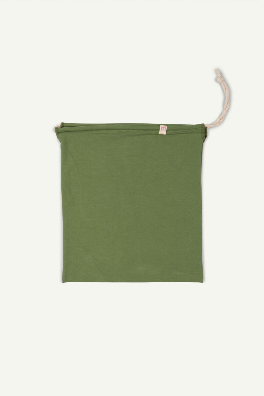 Green Drawstring Bag