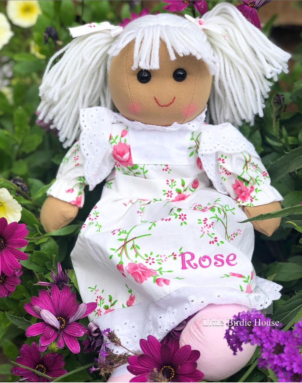 Rosie Personalised Rag Doll