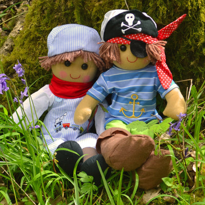 Jack Pirate Personalised Rag Doll
