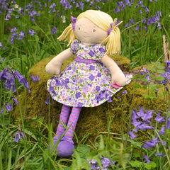 Violet Personalised Rag Doll