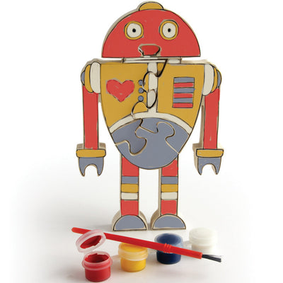 Paint Your Own Robot Jigsaw