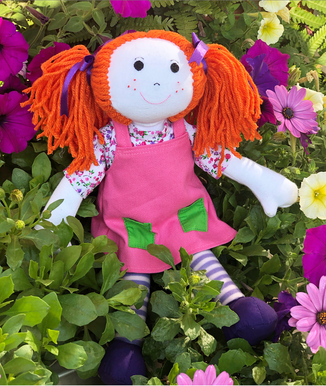 Amber Personalised Rag Doll