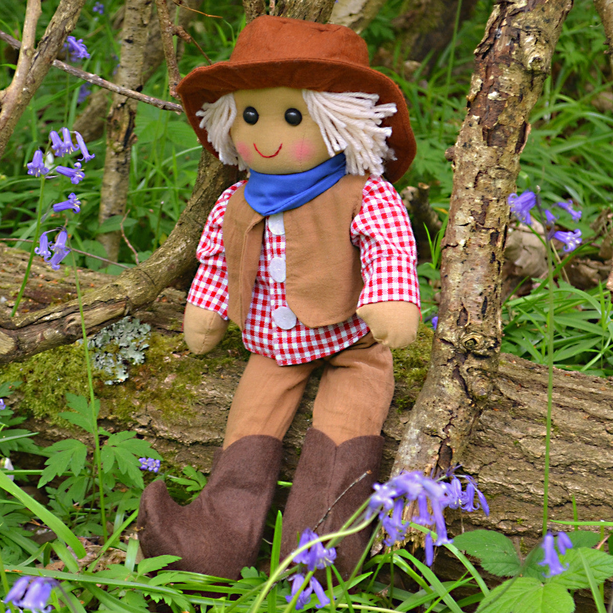 Billy Cowboy Personalised Rag Doll
