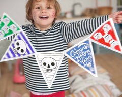 Boys Colour In Bunting