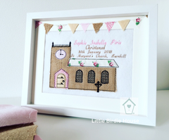 Personalised Wedding/ Baptism Frame
