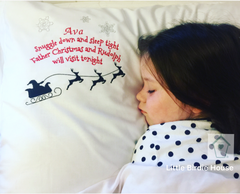 PRE ORDER Personalised Christmas Pillowcase