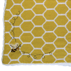 Bumble Bee Pram Personalised Blanket