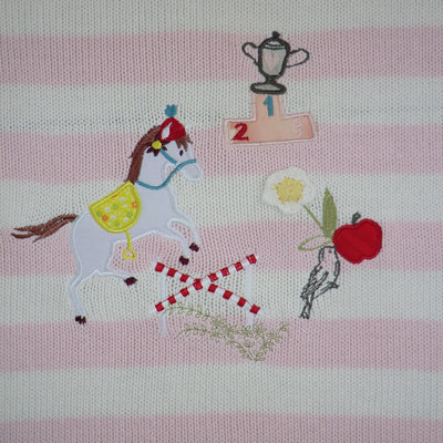 Pony Pram Personalised Blanket