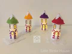 Personalised Fairy House Tea Light