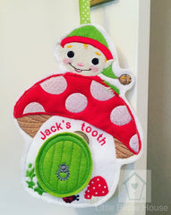 Personalised Elf Tooth fairy Door Hanger