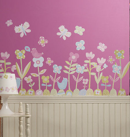 Whimsical Garden Wall Stickers