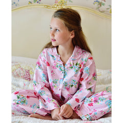 Woodland Flowers Personalised Pyjamas