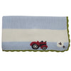 Farmyard Personalised Pram Blanket