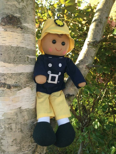 Sam Firefighter Personalised Rag Doll