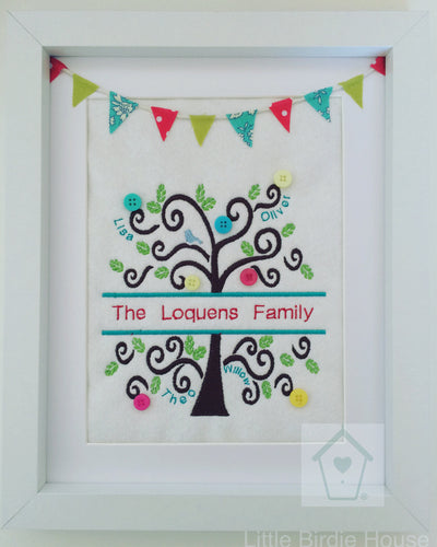 Personalised Family Tree Frame