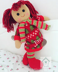 Holly Personalised Rag Doll