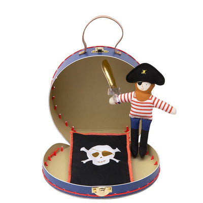 Mini Pirate Personalised Doll With Suitcase