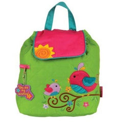 Birdie Quilted Personalised Childrens Backpack