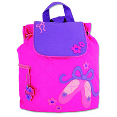 Ballet Quilted Personalised Childrens Backpack
