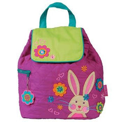 Bunny Quilted Personalised Childrens Backpack