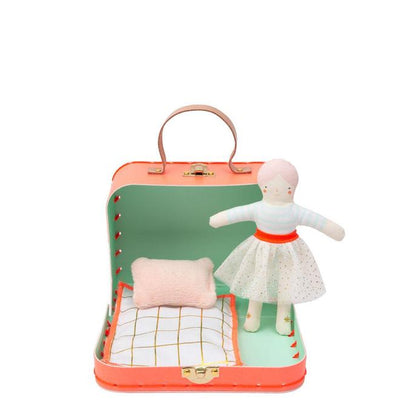 Mini Jessie Personalised Doll With Suitcase